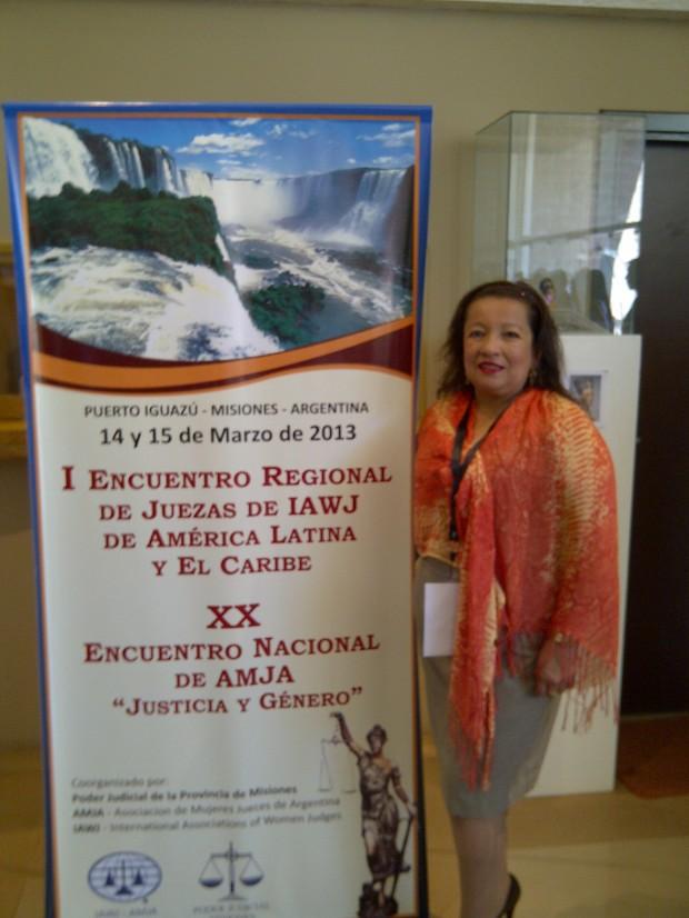 Una Jueza ecuatoriana destacó el compromiso de América Latina de promover la transversalidad de género en el sistema de justicia